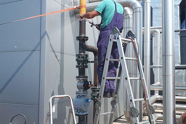 Инсталација на сеизмички и електромагнетни вентили